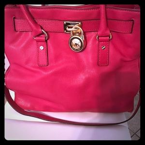 Hot pink M.Kors purse
